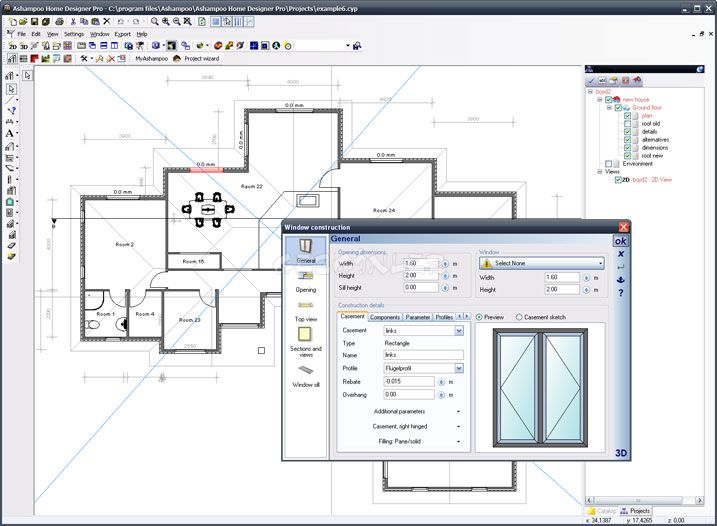 Ashampoo home designer pro ekran g r nt s gezginler - Home designer pro ...