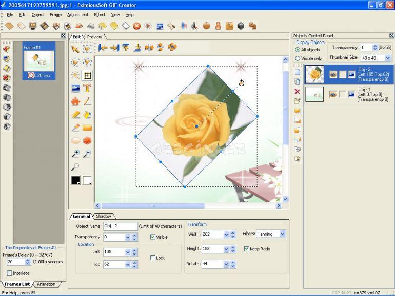 GIF Creator v7.15 Final Eng/Rus (2013)