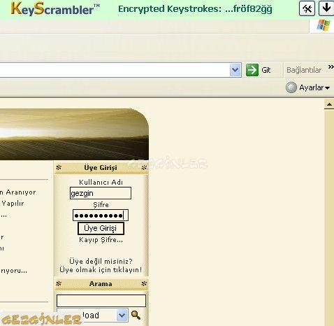 keyscrambler chrome