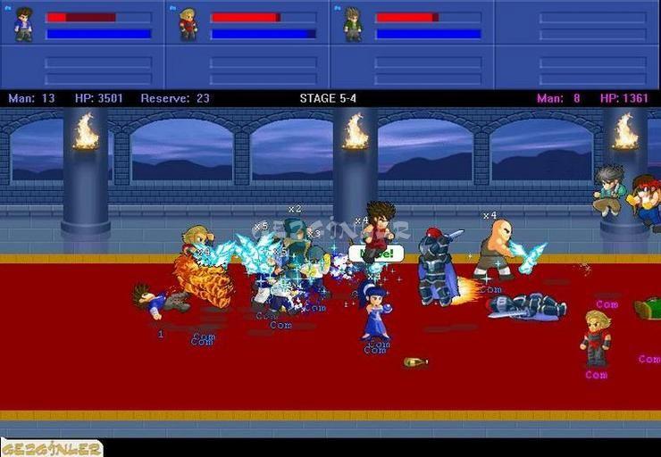 Little Fighter 2 Ekran Görüntüleri