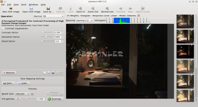 Pubg Hdr Yapma: Luminance HDR Ekran Görüntüsü