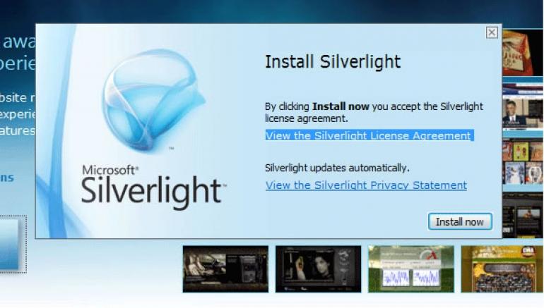 Microsoft Silverlight Ekran Görüntüsü - Gezginler