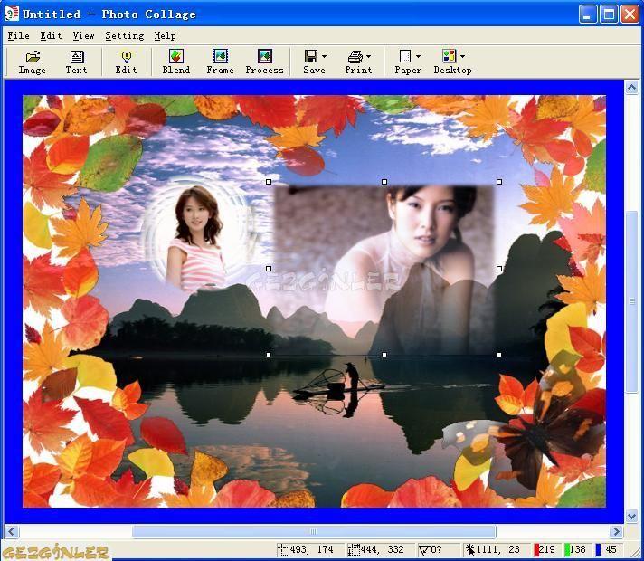 Photo collage ekran görüntüleri