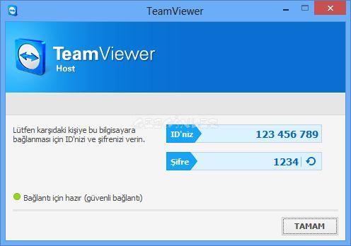 Teamviewer Host Ekran G 246 R 252 Nt 252 S 252 Gezginler