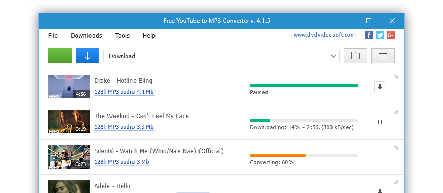 free youtube mp3 converter download indir