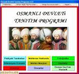 Program tanıtımı osmanlı devleti ne dair bir takım bilgilere