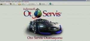 indemSOFT Oto Servis Takip Programı Ekran Görüntüsü