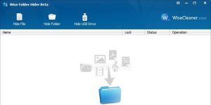Wise Folder Hider Ekran Görüntüsü