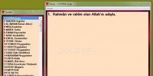 Kuran Ekran Görüntüsü