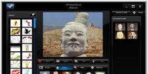 HP MediaSmart Webcam Yazılımı Ekran Görüntüsü