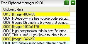 Free Clipboard Manager Ekran Görüntüsü