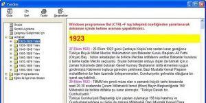 1923/1998 Yıllları ALMANAK Türkiye Ekran Görüntüsü