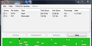 AML Free Disk Defrag Ekran Görüntüsü