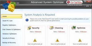 Advanced System Optimizer Ekran Görüntüsü