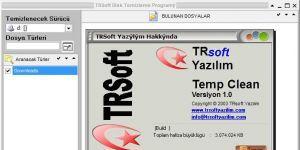 TRSoft Temp Clean Ekran Görüntüsü
