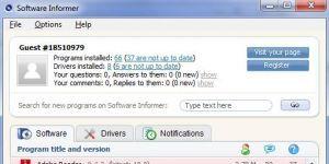 Software Informer Ekran Görüntüsü