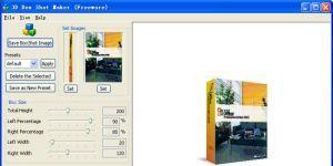 3D Box Shot Maker Ekran Görüntüsü