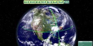 3D Earth Screensaver Ekran G�r�nt�s�