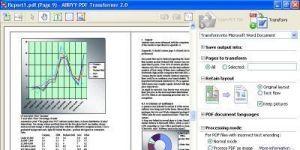 ABBYY PDF Transformer+ Ekran Görüntüsü