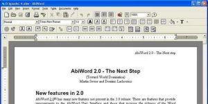 AbiWord Ekran Görüntüsü