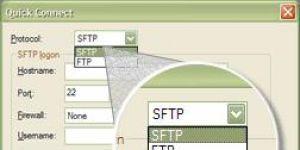 Absolute FTP Ekran Görüntüsü