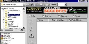 Absolute Security Standart Ekran Görüntüsü