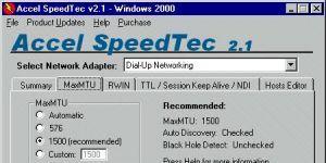 Accel SpeedTec Ekran Görüntüsü