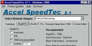 Accel SpeedTec Ekran G�r�nt�s�