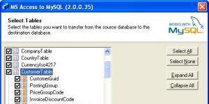 Access To MySQL Ekran Görüntüsü
