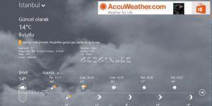 AccuWeather Ekran Görüntüsü