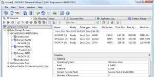 Active@ UNDELETE Data Recovery Ekran Görüntüsü