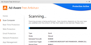 Ad-Aware Antivirus Free  Ekran Görüntüsü