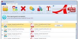 Adobe PDF Converter Ekran Görüntüsü