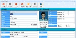 Adres-Etiket Ekran Görüntüsü