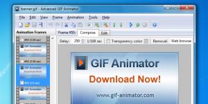 Advanced Gif Animator Ekran Görüntüsü