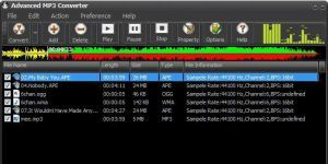Advanced MP3 Converter Ekran Görüntüsü