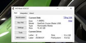 AIO Boot Ekran Görüntüsü
