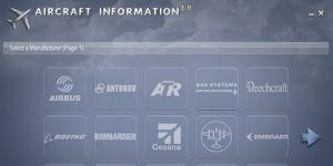 Aircraft Information Ekran Görüntüsü