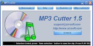 AIV MP3 cutter Ekran Görüntüsü
