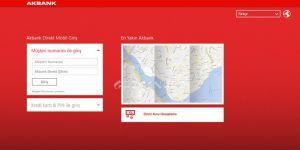 Akbank Direkt Mobil Ekran Görüntüsü