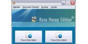 Kasa Hesap Edition Ekran Görüntüsü