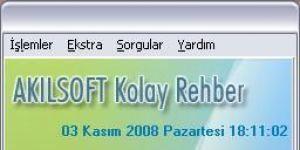 ALRAISOFT Rehber & SMS Ekran Görüntüsü