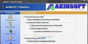 AKINSOFT FilterPlus Ekran G�r�nt�s�