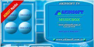 AKINSOFT Music Box Ekran Görüntüsü