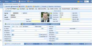 Akkarınca Üye Yönetim Sistemi (Dernek Programı) Ekran Görüntüsü