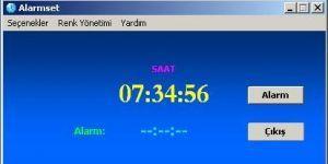 Alarmset Ekran G�r�nt�s�