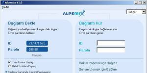 Alpemix Ekran G�r�nt�s�