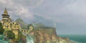 Ancient Castle 3D Screensaver Ekran Görüntüsü