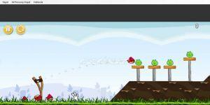 Angry Birds Flash Oyunu Ekran Görüntüsü