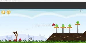 Angry Birds Flash Oyunu Ekran G�r�nt�s�
